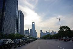 Lujiazui (Kathrin Eckert) Tags: china shanghai   pudong  chine jiangsu peoplesrepublicofchina lujiazui  jiangsuprovince         shnghish volksrepublikchina shnghifzji ljizu lokatse