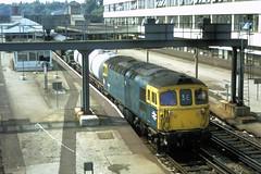 83 111 150783 Southampton 33106 (The KDH archive) Tags: railway 1983 southampton class33 33106 d6519