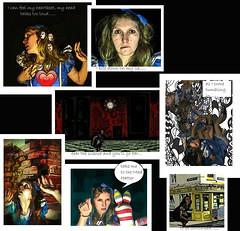19 (emifly) Tags: selfportrait fun comic alice aliceinwonderland plonker selfie