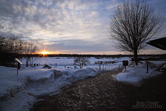The Thaw (Jenny Onsager) Tags: sunset snow canon path parks libertyville thaw independencegrove mygearandme mygearandmepremium mygearandmebronze mygearandmesilver mygearandmegold mygearandmeplatinum mygearandmediamond jennyonsager infinitexposure