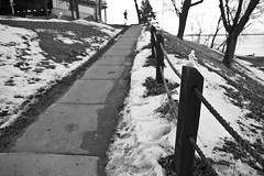 miniME (local paparazzi (isthmusportrait.com)) Tags: street winter blackandwhite bw white snow black streets cold building cute blancoynegro blanco strange weather architecture contrast corner fence outdoors eos prime frozen miniature snowman pod aperture downtown raw dof bright little pavement path candid 28mm alien negro creative adorable freezing mini rope highlights sidewalk tiny intersection chilly shallow madisonwi f18 oddity creature brightness ef blownout colder subzero wintery wetpavement 2015 canonraw cr2 butlerstreet isthmus jamesmadisonpark 28mmf18usm eastgilmanstreet danecountywisconsin photoshopelements7 canon5dmarkii localpaparazzi redskyrocketman lopaps isthmusportrait