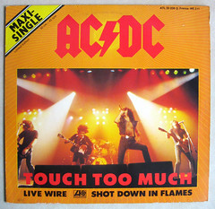 Touch Too Much 1980 (The Moog Image Dump) Tags: bon acdc scott french highway touch hell we atlantic single much 12 maxi 211