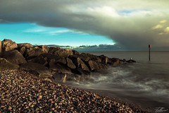 Waves (Peter L Williams) Tags: sea cloud seascape beach clouds landscape waves wave flickrfridaynotok