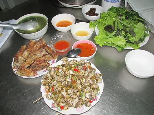 Séance cuisine en famille, Vietnam