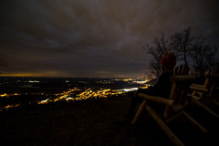Chillin' with the view (kellyisfancy) Tags: nightphotography night jasper tn tennessee exploring telephoto paintingwithlight canon5d exploration markiii