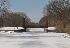 A0273HCCOb (preacher43) Tags: winter snow cold canal illinois tracks snowmobile hennepin geneseo colona henrycounty