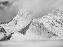 Arrete de Vorassay - Arrte du Gouter (benoit_d) Tags: winter bw snow hiver nb neige saintgervais 2015