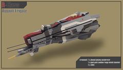 R-Class Assault Frigate (AFOL-anon) Tags: lego assault homeworld frigate taiidan vaygr