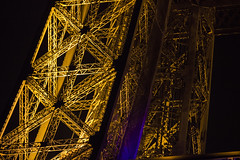 Eiffel Tower by Night (IFM Photographic) Tags: paris france ex night canon eiffeltower sigma os nighttime latoureiffel champdemars 75007 7th f28 dg 70200mm 7me gustaveeiffel 7e 600d hsm sigma70200mm ladamedefer 7tharrondisment arondisment sigma70200mmf28exdgoshsm img7104a