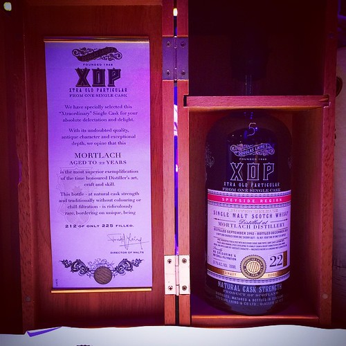 Douglas Laing's XOP Mortlach aged to 22 years. Cask Strength at 57.1 % ABV. #yummie #whiskywithfriends #whisky