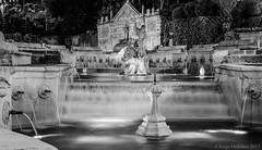 Fuente del Rey byn (jorgerg770) Tags: blackandwhite españa byn blancoynegro water fountain de noche andalucía agua fuente rey córdoba salud priego cordobesa subbética