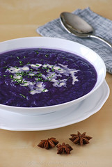 Red cabbage cream soup (Akane86) Tags: vegetables soup healthy pear crema col pera rotkohl lombarda redcabagge