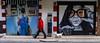 Streets of Art   ///   Calles de Arte (Walimai.photo) Tags: street red dog color colour art lumix calle rojo grafitti arte panasonic perro salamanca barrio oeste lx5
