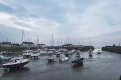 Tranquil Harbour (shawnraisin d+p) Tags: uk sky beach wales coast boat mood westwales place unitedkingdom harbour cymru restful peaceful calm gb lowtide ceredigion tranquil softlight aberaeron harmonious shawnwhite fujifilmxt10