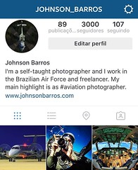 Today is the day we celebrate the 3,000 people who could I share my experiences on Instagram. Thank you all look, like, comment, sharing and inspire me.  Hoje  o dia em que comemoro as 3000 pessoas com quem pude compartilhas minhas experincias no Instag (Johnson Barros) Tags: square squareformat iphoneography instagramapp uploaded:by=instagram