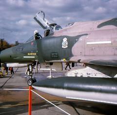 USAF F-4E at Mildenhall in 1972 (EdWalton) Tags: uk suffolk phantom usaf f4 mcdonnell mcdonnelldouglas f4e mildenhall rafmildenhall usafe