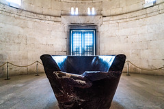 Ravenna: Mausoleum des Theoderich, 520 (Anita Pravits) Tags: italien italy italia mausoleum ravenna emiliaromagna porphyry porphyr teodorico theoderich mausoledeteodorico theoderichmausoleum