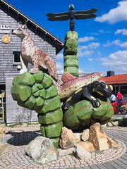Torfhaus im Harz (jens.steinbeisser) Tags: deutschland nationalpark harz figur niedersachsen torfhaus mittelgebirge rawtherapee olympusepl3