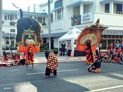 Reog Ponorogo (bagazi) Tags: travel indonesia amazing culture surabaya tunjungan jawatimur colorphotoaward flickraward platinumheartaward flickrawardgallery
