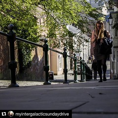 A spring walk up Lincoln's Steep Hill. #Repost (Visit Lincoln Instagram) (Joel (Visit Lincoln)) Tags: england britain lincolnshire lincoln