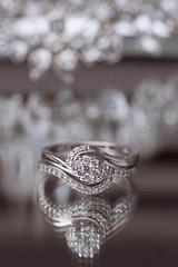 the rings (arrowlili) Tags: wedding macro diamonds ring weddings cliche weddingphotography deatil engagementrings 52weeksof2016