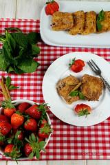 LECHE FRITA (by Ana M Espada) Tags: food postre recipe dessert recipes canela dulce recetas reposteria lechefrita cookthecake