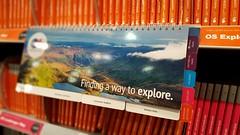 Explore (elliemcc11) Tags: pink orange manchester dof bokeh maps bookshelf os depthoffield explore bookshop waterstones selectivefocus ordnancesurvey greatermanchester samsunggalaxys6