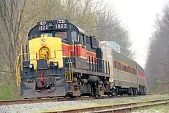 ARRC CVSR Outing: 4 (craigsanders429) Tags: passengertrains passengercars cuyahogavalleyscenicrailroad rs18 peninsulaohio cvsr1822 cvsrtrains