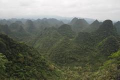 Nongla/ 0789 (Petr Novk ()) Tags: china landscape asia hill naturereserve asie   karst  guangxi deforestation habitatdestruction desertification    na nongla  karstrockydesertification   mashancounty