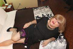 new121763-IMG_5969t (Misscherieamor) Tags: tv transformation feminine cd femme motel tgirl transgender mature sissy tranny transvestite crossdress ts gurl tg lbd travestis littleblackdress travesti travestido travestie m2f onbed xdresser tgurl traviesa travestito slipshowing travestit transwoman