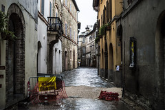 Work in progress (Federico_Lucietto_Photography) Tags: street italy rain perugia umbria bevagna