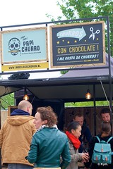 """Me gusta de churros!"" (Kym.) Tags: people festival trek walking walk thenetherlands snack sweets goodies churro somebodyelseskitchen foodruckfestival"