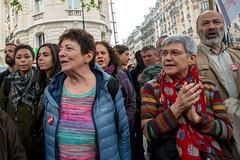 Arlette Laguiller (dprezat) Tags: street people paris nikon contest protest politique manifestation opposition d800 syndicat autonome laguiller arlettelaguiller lutteouvrire nikond800 loitravail elkohmri