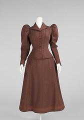 Cycling suit (foot-passenger) Tags: cyclingsuit 1896 themetropolitanmuseumofart metmuseum