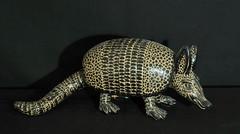 Armadillo Pottery Chiapas Mexico (Teyacapan) Tags: animals ceramics folkart maya mexican clay pottery armadillo chiapas amatenango