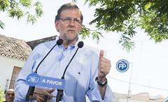 Mariano Rajoy visita  Santa Olalla del Cala (Partido Popular) Tags: rajoy pp marianorajoy partidopopular 26j eleccionesgenerales