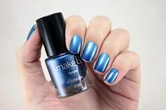 [Desafio 31 Unhas] Moda (beeanka.) Tags: blue azul nails nailpolish unhas magnetic magnético esmalte oboticário