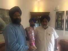 Meeting with the Chairman of Shatabdi Gurpurb Committee Takht Sri Patna Sahib Gurinder Pal Singh - Sukhbir Singh Badal (sukhbirsingh_badal) Tags: government punjab akalidal sukhbirsinghbadal