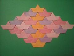Ship Shape Tesselation. (Marjan 8) Tags: paper origami tesselation paperfolding shipshape