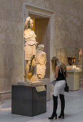 Role Model (Chris Protopapas) Tags: newyorkcity sculpture sexy art museum greek model ancient roman candid sony goddess diana powerful rolemodel