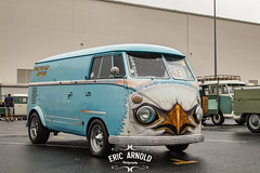 Screaming Eagle (Eric Arnold Photography) Tags: show california ca bus look car june vw volkswagen mural paint eagle painted style longbeach bumper chrome jersey 70s van custom screaming billet octo arched screamin