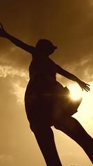 Almost human/ Prawie czowiek (dochtuir) Tags: park sculpture woman praga human warsaw warszawa rzeba kobieta skaryszewski czowiek
