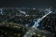 Urban Living | Seoul, South Korea (Aloysius Lam) Tags: city longexposure urban architecture night canon cityscape aerial seoul roads sheraton southkorea