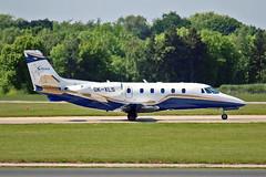 "OK-XLS C560 Citation Excel Silesia Air s.r.o. MAN 03-06-16 (PlanecrazyUK) Tags: egcc manchester man ringway ""manchester airport"" okxls c560citationexcel silesiaairsro 030616"