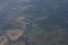 Mexico (Suzanne's stream) Tags: plane mexico landing cancun flugzeug landung mangroven
