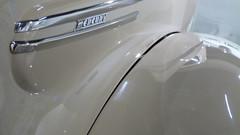 A13171 / 1939 Mercury convertible coupe (janeland) Tags: california detail car losangeles automobile mercury text chrome streamlined deco platinum oneword petersenautomotivemuseum langeng 90036 noncoloursincolour thepetersen 1939mercuryconvertiblecoupe
