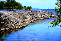Toronto (CCphotoworks) Tags: toronto ontario canada nature water outdoors rocks lakes cities greatlakes shores greenspaces landspits citygreenspaces