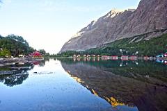 Shangrilla,Skardu (anbajwa) Tags: pakistan mountain lake reflection nature colors beauty clouds photography nikon flickr valley resorts shangrilla skardu northernareaofpakistan gilgitbaltistan anbajwa asimnisarbajwaexcapture
