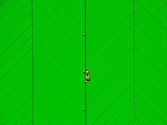 Green_Door. (Anacronimo.) Tags: door verde green texture geometrico porta geometrical