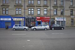 govanhill 5 (route9autos.co.uk) Tags: road streets buildings scotland glasgow streetscene demolition victoria shops southside derelict govanhill larkfield butterbiggins